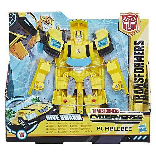 Transformers Cyberverse Ultra – Bumblebee 18 cm hasbro  - Doce Diversão