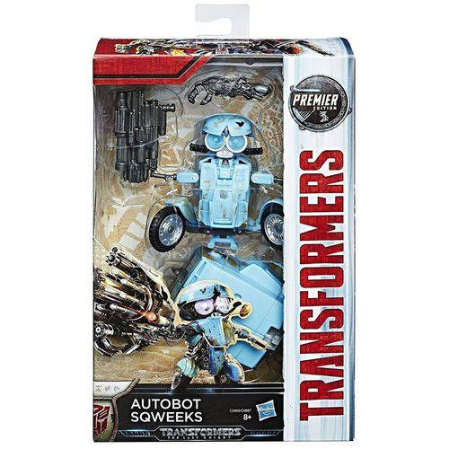 Transformers Filme 5 Deluxe Autobot Sqweeks 3 modos 10 cm - Hasbro  - Doce Diversão