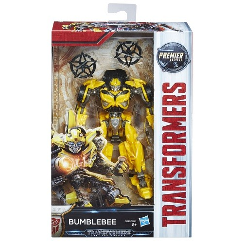 Transformers  Filme 5 Deluxe Bumblebee  13cm - Hasbro  - Doce Diversão