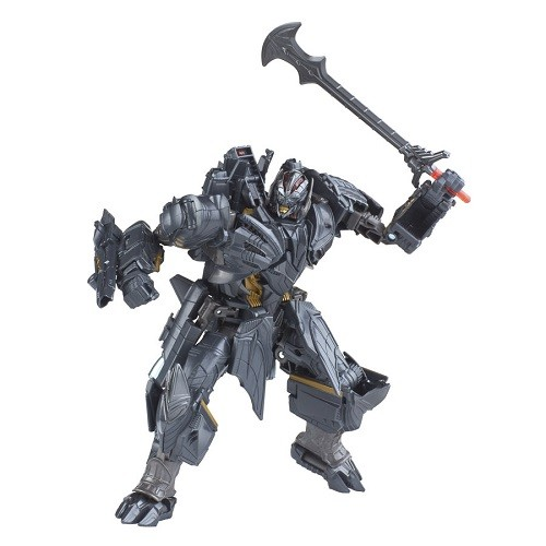 Transformers Filme 5 Voyager Luxo  Megatron  17 cm  - Hasbro  - Doce Diversão
