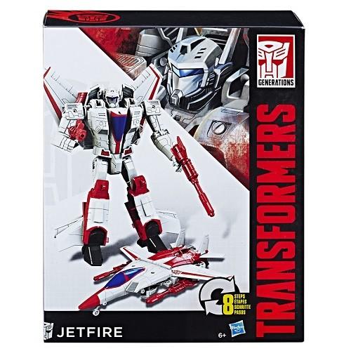 Transformers  Generations Cyber JetFire 17cm - Hasbro  - Doce Diversão