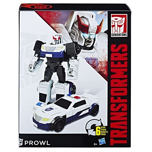 Transformers  Generations Cyber Prowl 17cm - Hasbro  - Doce Diversão
