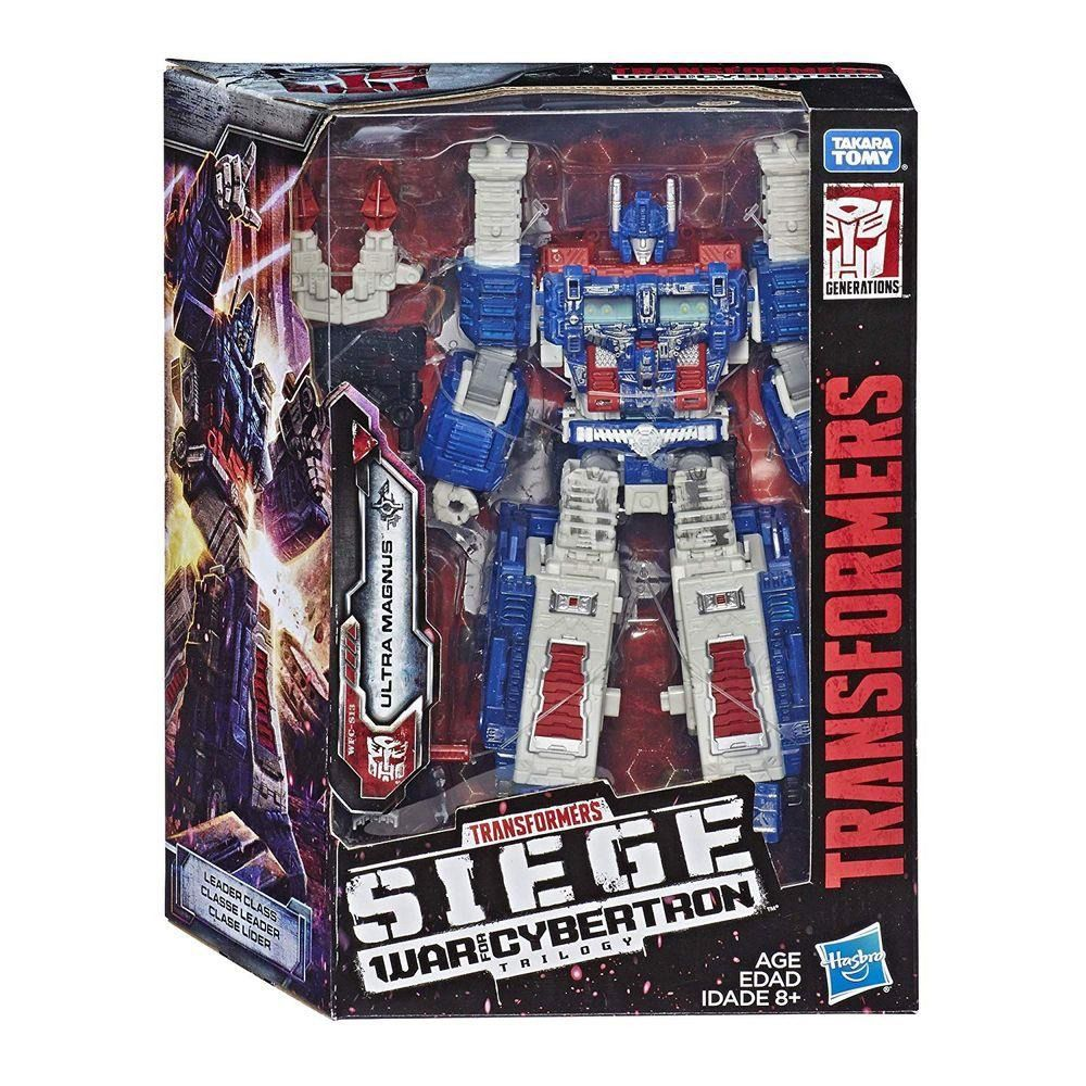 Transformers Leader Siege War for Cybertron Trilogy WFC-S13 Ultra Magnus 22 cm – Hasbro  - Doce Diversão
