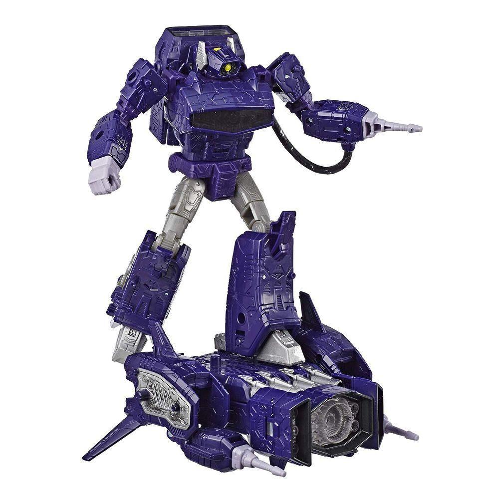 Transformers Leader Siege War for Cybertron Trilogy WFC-S14 Shockwave 22 cm – Hasbro  - Doce Diversão