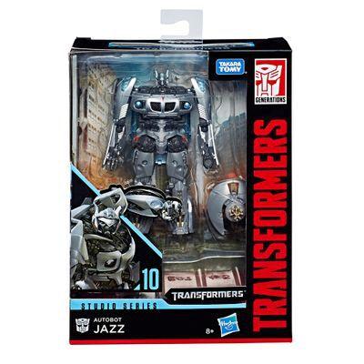 Transformers Studio Series 10 Autobot Jazz Deluxe - Hasbro   - Doce Diversão