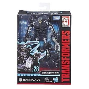 Transformers Studio Series 28 Barricade Deluxe - Hasbro  - Doce Diversão