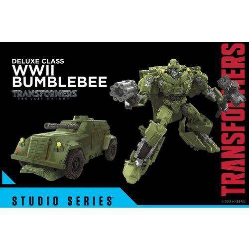 Transformers Studio Series 26 Bumblebee WWII Ultimo Cavaleiro Deluxe – Hasbro  - Doce Diversão