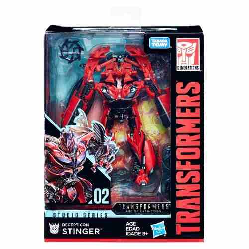 Transformers Studio Series 2 Decepticon Stinger Deluxe - Hasbro   - Doce Diversão