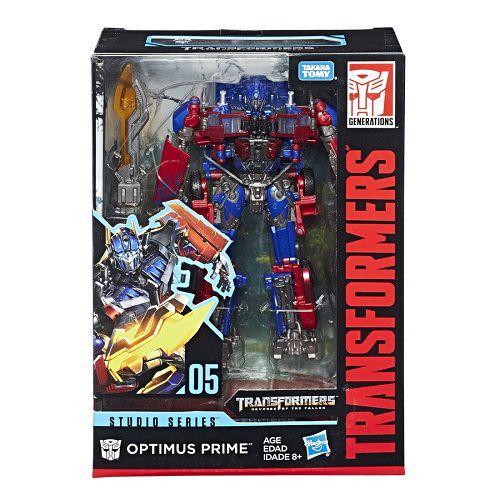 Transformers Studio Series 5 Voyager Optimus Prime 18 cm - Hasbro  - Doce Diversão
