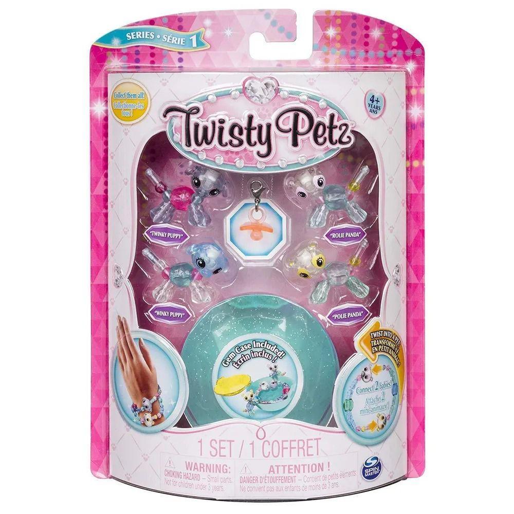 Twisty Petz – Gêmeos C/4 – Pandas e Cachorrinhos - Série 1 – Sunny  - Doce Diversão