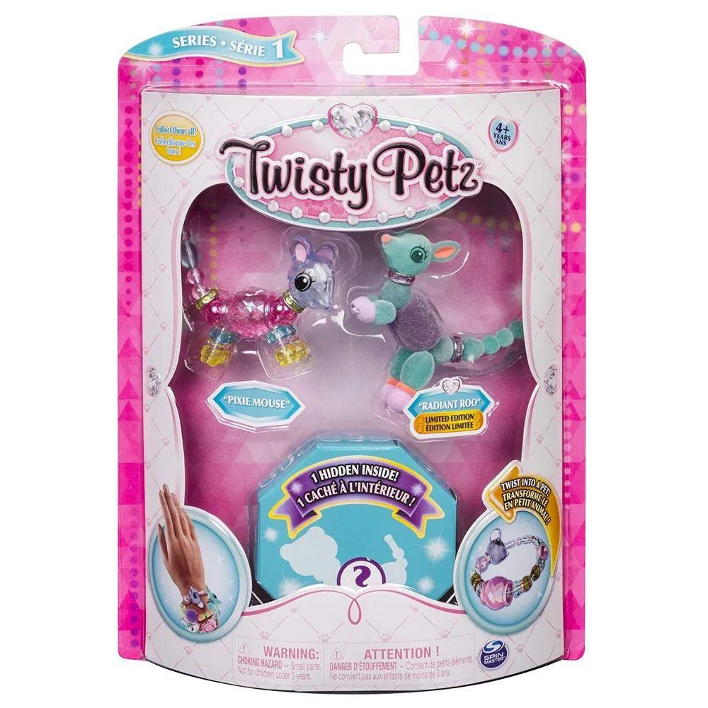 Twisty Petz – Surpresa Rara C/3 - Ratinho Pixie e Radiant Roo - Série 1 – Sunny  - Doce Diversão
