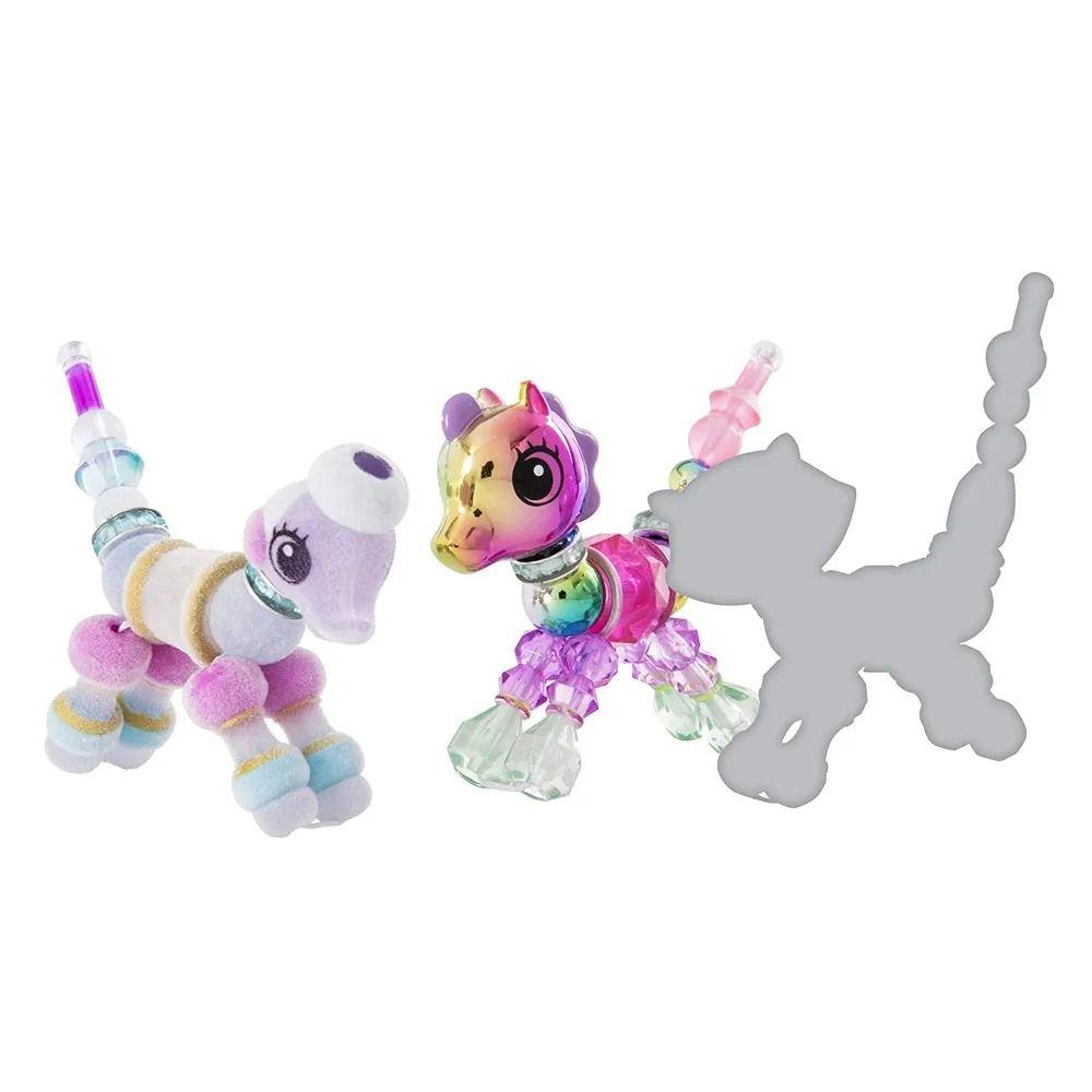 Twisty Petz – Surpresa Rara C/3 - Sunshiny Pony e Posie Poodle - Série 1 – Sunny  - Doce Diversão
