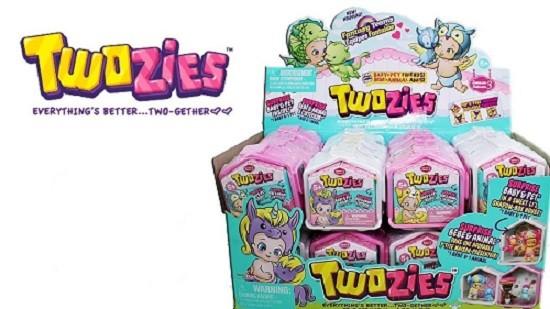 Twozies Display Nicho Serie 3 - 30 Bebês + 30 Pets - Dtc  - Doce Diversão