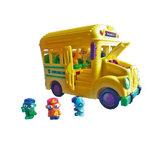 Zomlings Playset Ônibus Zombie – Crazy school Bus - Fun   - Doce Diversão