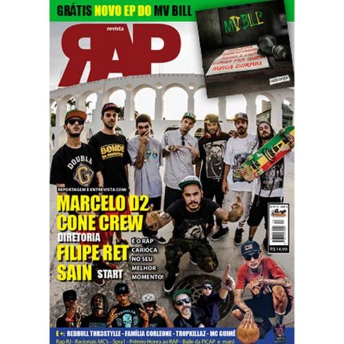 Rap Nacional #10. Capa: Marcelo D2 & Cone Crew  - LiteraRUA
