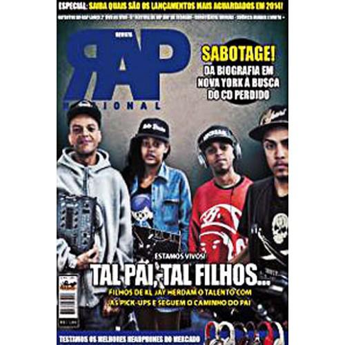 Rap Nacional #8. Capa: DJ KL Jay