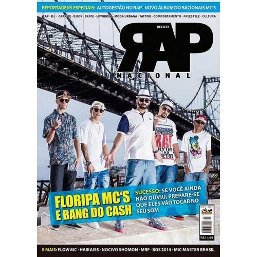 Rap Nacional #11. Capa: Floripa Mc