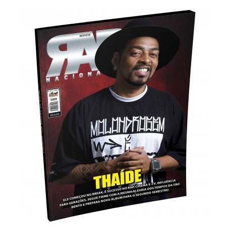 Rap Nacional #12. Capa: Thaíde  - LiteraRUA