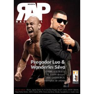 Rap Nacional #2 Capa: Pregador Luo e Vanderlei Silva