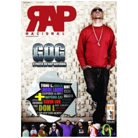 Rap Nacional #3 Capa: GOG