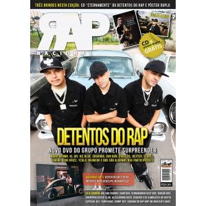 Rap Nacional #5 Capa: Detentos do Rap  - LiteraRUA