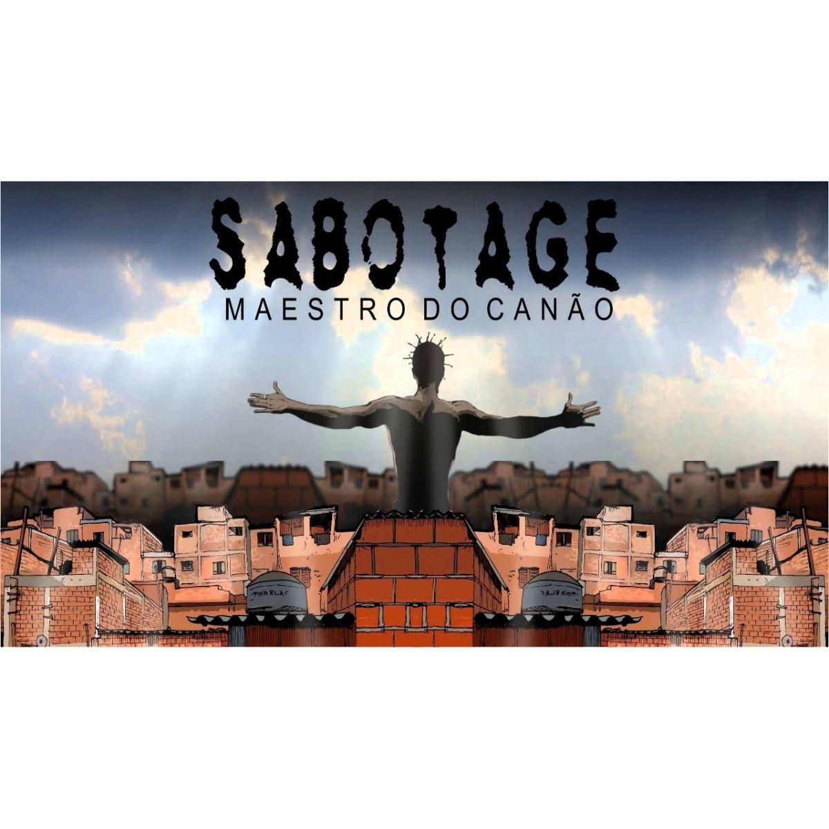 HQ Sabotage - Maestro do Canão  - LiteraRUA