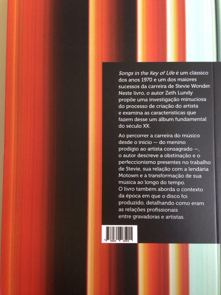 Songs In The Key of Life - Stevie Wonder - O Livro do Disco - Zeth Lundy  - LiteraRUA
