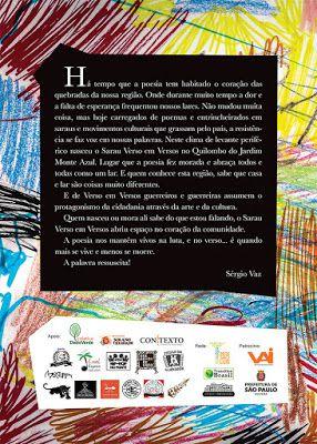 Antologia Sarau Verso Em Versos  - LiteraRUA