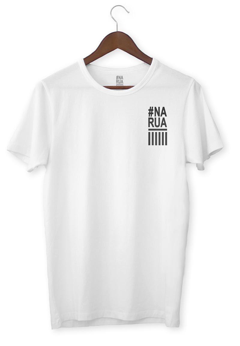 Camiseta #Na RUA - Casual