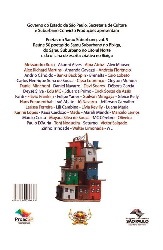Poetas Do Sarau Suburbano Vol.5  - LiteraRUA