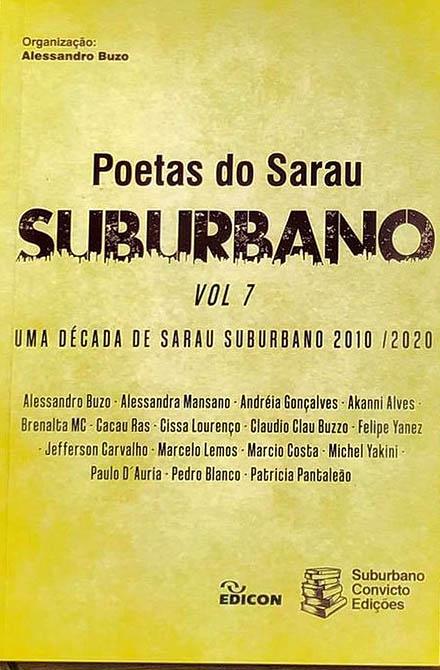 Poetas do Sarau Suburbano - Vol. 7