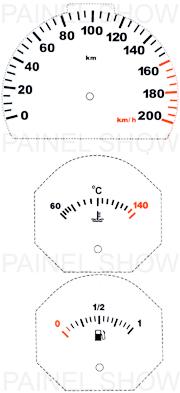 Kit Neon p/ Painel - Cod87v200 - Uno / Fiorino  - PAINEL SHOW TUNING - Personalização de Painéis de Carros e Motos