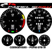 Kit Translúcido p/ Painel - Cod502v220 - Puma GTB S1