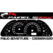 Kit Translúcido p/ Painel - Cod589v220 - Palio Strada Adventure