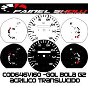 Kit Translúcido p/ Painel - Cod646v160 - Gol Bola 95 ou 96