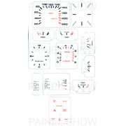 Adesivo p/ Painel - Cod14v220 - Gol GT