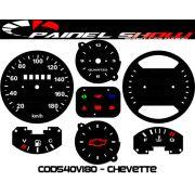 Kit Transl�cido p/ Painel - Cod539v180 - Chevette Painel Horasa