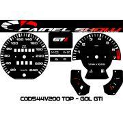 Kit Translúcido p/ Painel - Cod544v240 - Gol GTI