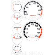Kit Neon p/ Painel - Cod125v180 - Chevette SR / GP