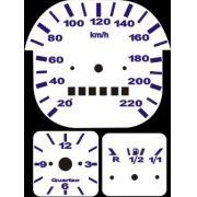Kit Translúcido p/ Painel - Cod571v220 - Fusca acima de 1980