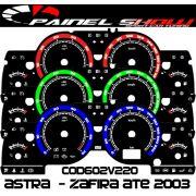 Kit Translucido p/ Painel - Cod602v220 - Astra Zafira até 2003 SS