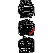 Kit Translúcido p/ Painel - Cod626V220 - Civic Antigo