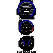 Kit Translúcido p/ Painel - Cod628v220 - Civic Antigo