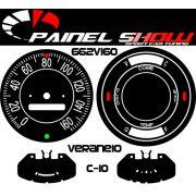 Kit Translucido p/ Painel - Cod662v160 - C10 C14 C15 D10 ou Veraneio