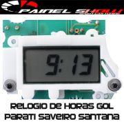 Relogio de Horas Digital para Gol Saveiro Parati Santana Voyage Quantum