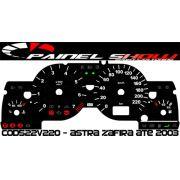 Kit Translúcido p/ Painel - Cod522v220 - Astra até 2003 com Contagiros
