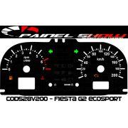Kit Translúcido p/ Painel - Cod528v200 - Fiesta ou Escosport