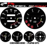 Kit Translúcido p/ Painel - Cod498v200 - Puma GTC