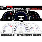 Kit Translúcido p/ Painel - Cod531v220 - Astra Vectra Calibra até 1996