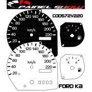 Kit Translúcido p/ Painel - Cod572v220 - Ford KA